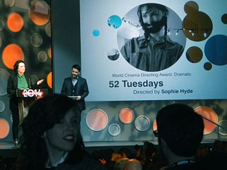 52 Tuesdays - 52 Tuesdays won the Directing Award: World Cinema Dramatic at the 2014 Sundance Film Festival.