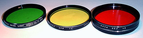 55mm optical filters