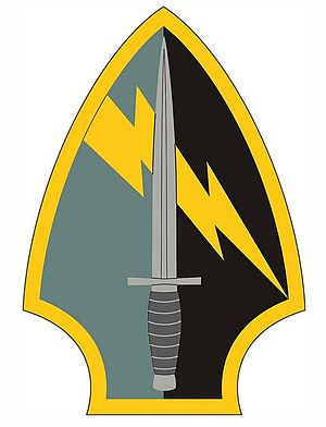 560th Battlefield Surveillance Brigade (United States) - 560th Battlefield Surveillance Brigade emblem