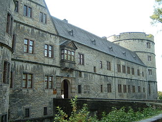 Wewelsburg - Eastern wing with access-bridge