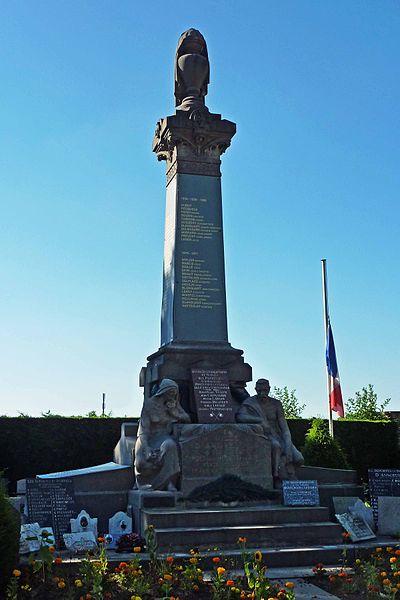 Monument aux Morts - Cimetière, rue du Cimetière, 59 Annoeullin