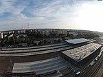 5 - Dzielnica mieszkaniowa Łódź Widzew i Dworzec Kolejowy Dji Phantom 3.JPG