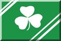 600px Verde con bande Bianche e trifoglio.png