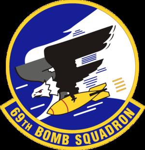 69th Bomb Squadron - Emblem of the 69th Bombardment Squadron