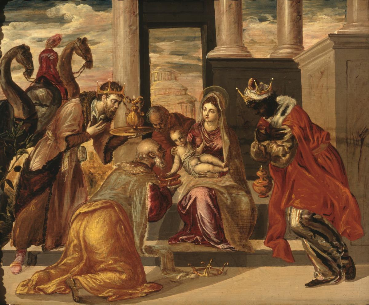 Resultado de imagen de adoracion de los reyes magos, el greco