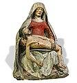 81 - Vierge de pitié de l'église de Saint Jean de Puycheval XVIe - Bois - Musée du Pays rabastinois PalissyPM81000294.jpg