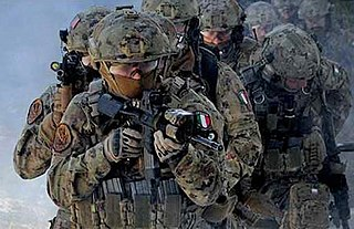 special forces units from several branches of the Italian Military