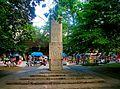 900 éves évforduló emlékmű, Hajdúszoboszló 05.JPG