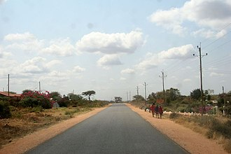 Nairobi–Malaba Road - A104 at Kajiado