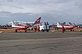 A23-059 Pilatus PC-9A RAAF Roulettes Aerobatic Team (8544352014).jpg