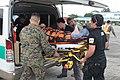 AFP, US service members evacuate injured people in wake of Haiyan 131118-M-UU132-390.jpg