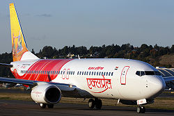 Eine Boeing 737-800 der Air India Express