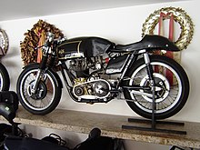 A 1962 AJS 7R 350cc Race Bike With Features Often Imitated By Cafe Racers