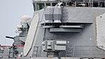 AN SLQ-59 & AN SLQ-32 Electronic Warfare Suite on board USS Curtis Wilbur (DDG-54) left rear view at U.S. Fleet Activities Yokosuka April 30, 2018.jpg
