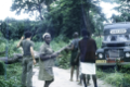 ASC Leiden - Coutinho Collection - G 08 - Ziguinchor, Senegal - Ambulance stuck in the mud, with Guinean nurse and the doctor - 1973.tif