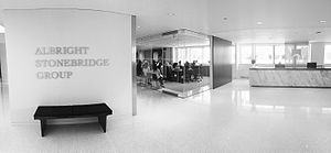 Albright Stonebridge Group - Albright Stonebridge Group's Washington, DC office lobby