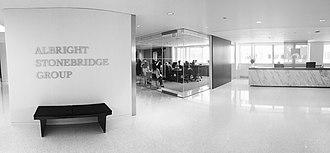 Albright Stonebridge Group - Albright Stonebridge Group's Washington, DC office lobby