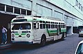"""A Green Tortoise GM """"old-look"""" bus at SF Transbay Terminal in 1987.jpg"""