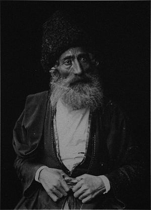 History of the Jews in Georgia - Image: A Jew from Akhaltsikhe (Ermakov) BW