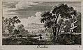 A field being ploughed; representing October. Etching by G. Wellcome V0007629ETR.jpg