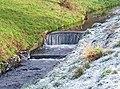 A miniature waterfall in Springfield Park - geograph.org.uk - 1660290.jpg