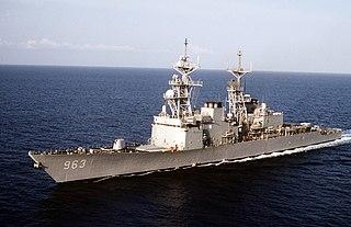 USS <i>Spruance</i> (DD-963) Spruance-class destroyer