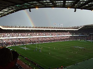 1991 Rugby World Cup - Image: A pot of gold... geograph.org.uk 718806