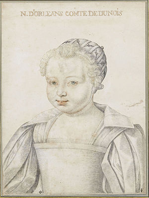 Nicolas Henri, Duke of Orléans - A ca. 1610 sketch of the Duke of Orléans.
