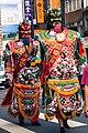 A temple festival deity costume Taipei, Buddhist culture religion rites rituals sights.jpg
