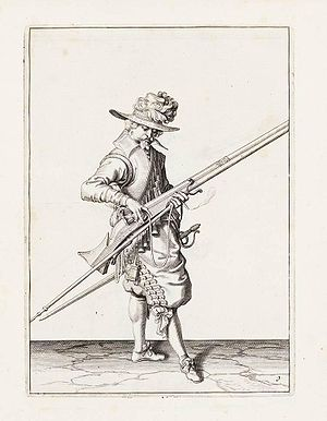 Dutch States Army - States-Army Musketeer by Jacob de Gheyn II