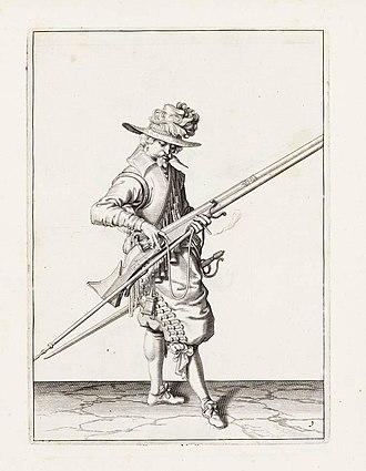 Dutch States Army - States-Army Musketeer by Jacob de Gheyn II