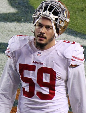 Aaron Lynch (American football) - Lynch with the San Francisco 49ers in 2014