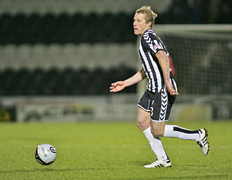 Aaron Mooy - Mooy playing for St Mirren in 2011.