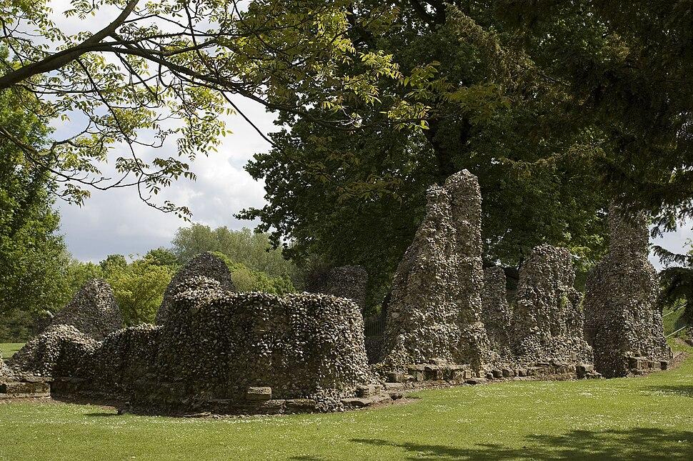 Abbey Ruins WM