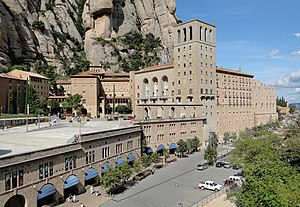 English: Abbey Santa Maria de Montserrat, Cata...