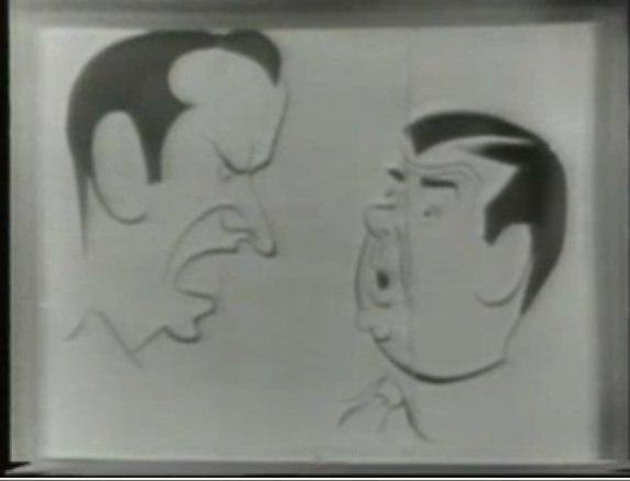 Abbott costello caricature