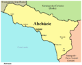 Abcházie mapa.png