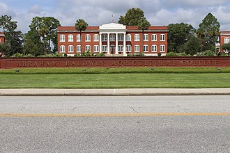 Abraham Baldwin Agricultural College - Abraham Baldwin Agricultural College front lawn