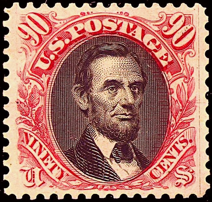 Abraham Lincoln 1869 Issue22-90c