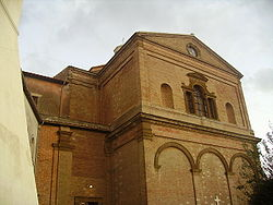 Apse of the Assunta Baroque parish church.