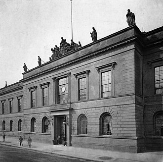 Prussian Academy of Arts - Arnim Palace, the Prussian Academy of Arts building on Unter den Linden in Berlin, c. 1903