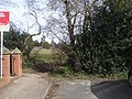 """Access to """"the field"""", Melbourne Rd, Llanishen, Cardiff - geograph.org.uk - 1733306.jpg"""