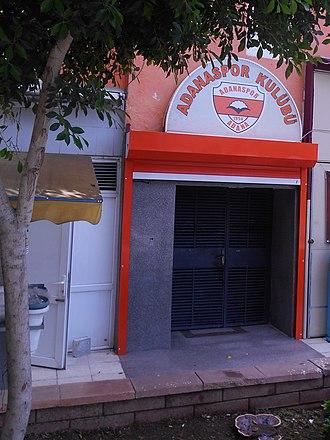 Adanaspor - Club entrance