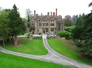 Adcote School -  Adcote School. The building was constructed in 1879 and is Grade I listed.