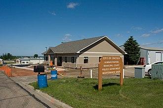 Lincoln, North Dakota - Administrative Building in Lincoln