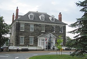 Sir George Cockburn, 10th Baronet - The Admiralty House in Halifax, Nova Scotia, Cockburn's residence while Commander-in-Chief, North American Station