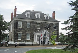 CFB Halifax - Admiralty House, Halifax (1819)
