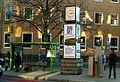 Adolf Falke futuristische Falke-Uhr Egestorffstraße Hannover Ecke Niemeyerstraße Stadtbahn- Straßenbahn-Haltestelle Lindener Marktplatz.jpg