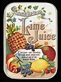 Advert for West Indian Lime Juice Wellcome L0040443.jpg
