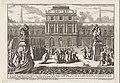 Aeneas arriveert te Carthago bij Dido Magesyn der Italiaense gebouwen (serietitel), RP-P-1957-653-2-2.jpg